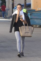 Cara Santana - Leaving the Gym in Los Angeles, January 2015