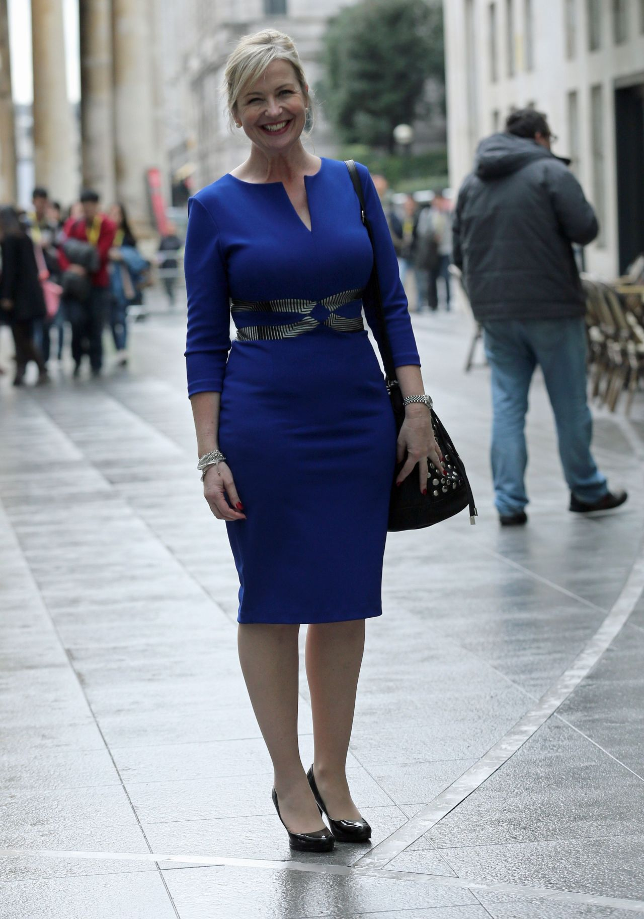 Carol kirkwood 2015 celebrity photos style leaving the for The kirkwood