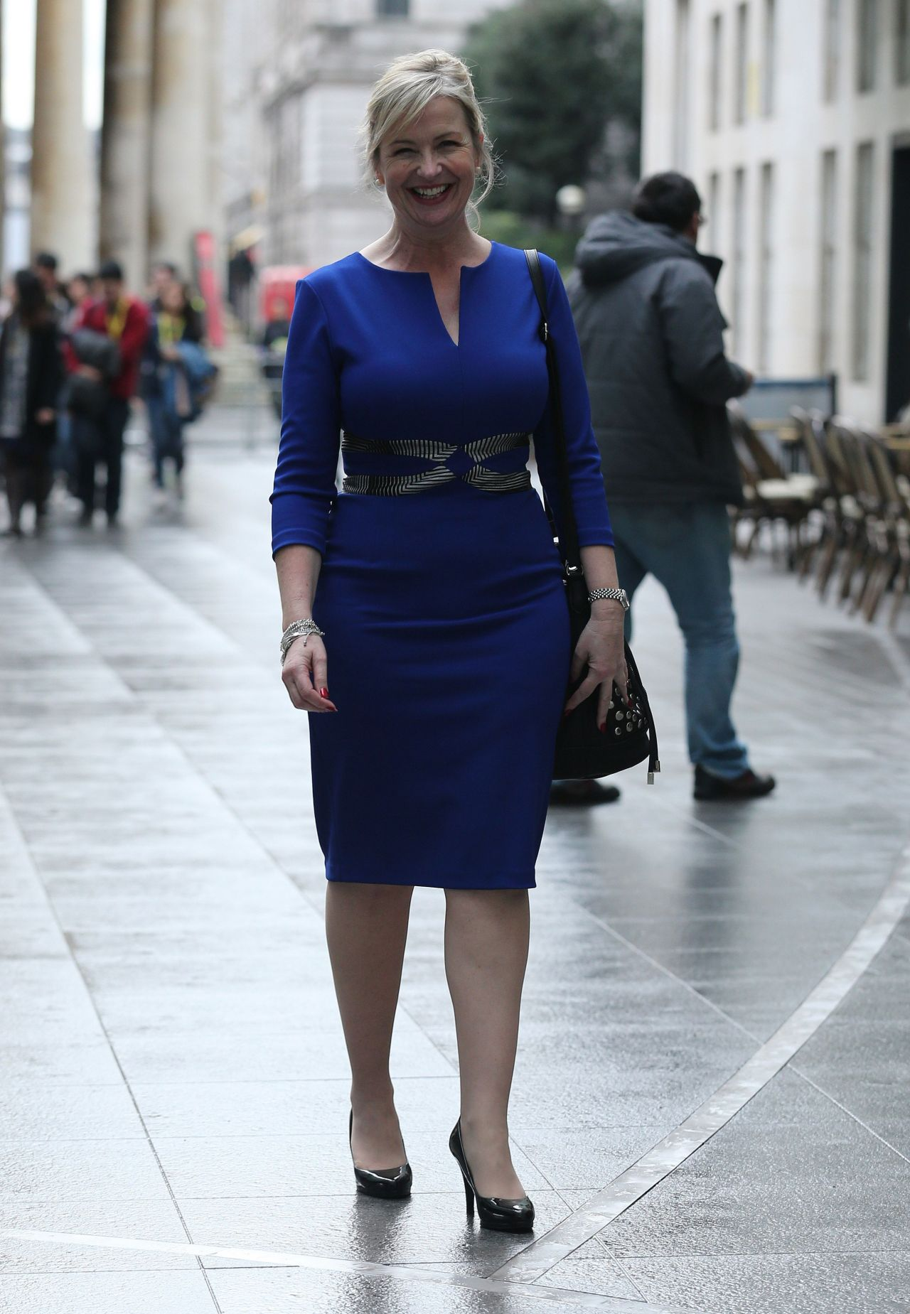 Carol Kirkwood Style Leaving The Bbc Media City January 2015