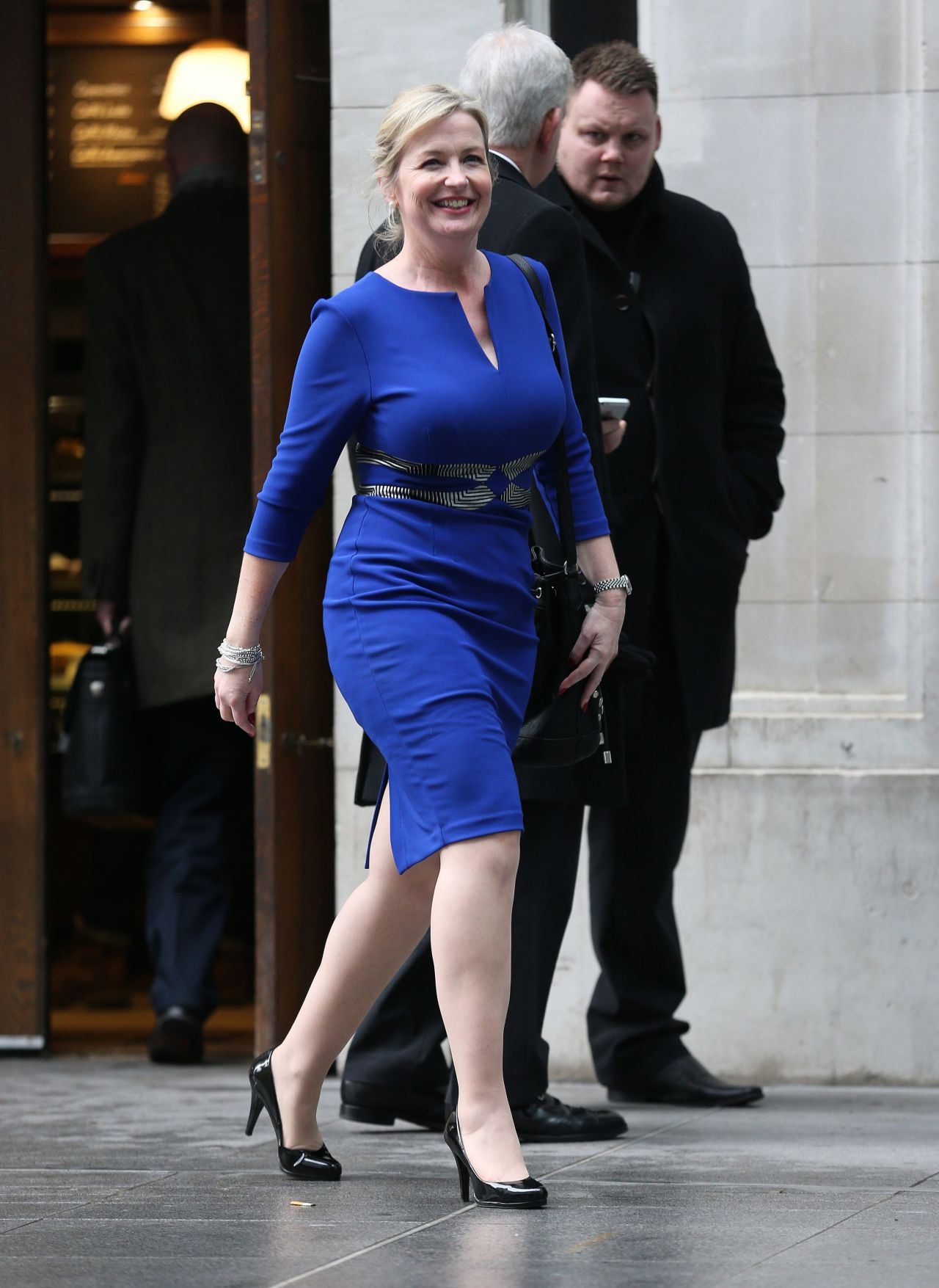Carol kirkwood style leaving the bbc media city january for The kirkwood