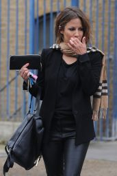 Caroline Flack - At Rehearsal Studios in West London, January 2015