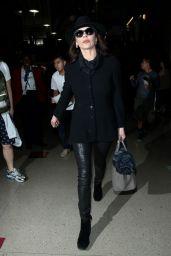 Catherine Zeta Jones - at LAX Airport, January 2015