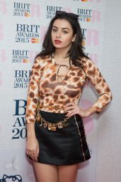 Charli XCX - Brit Awards 2015 Nominations in London