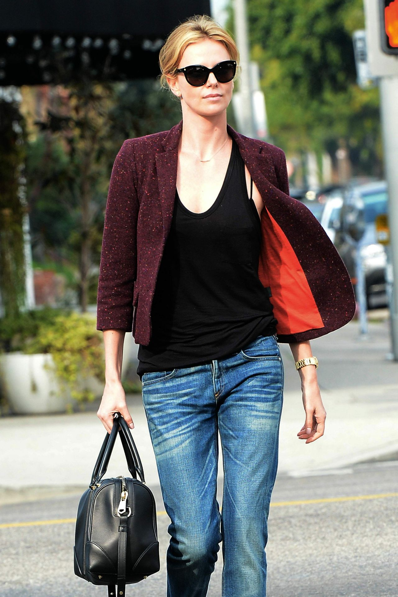 Charlize theron casual style - 2019 year