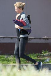 Charlize Theron - Leaving Yoga Class - January 2015