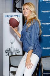 Charlotte McKinney – SiriusXM at Super Bowl XLIX Radio Row in Phoenix, January 2015