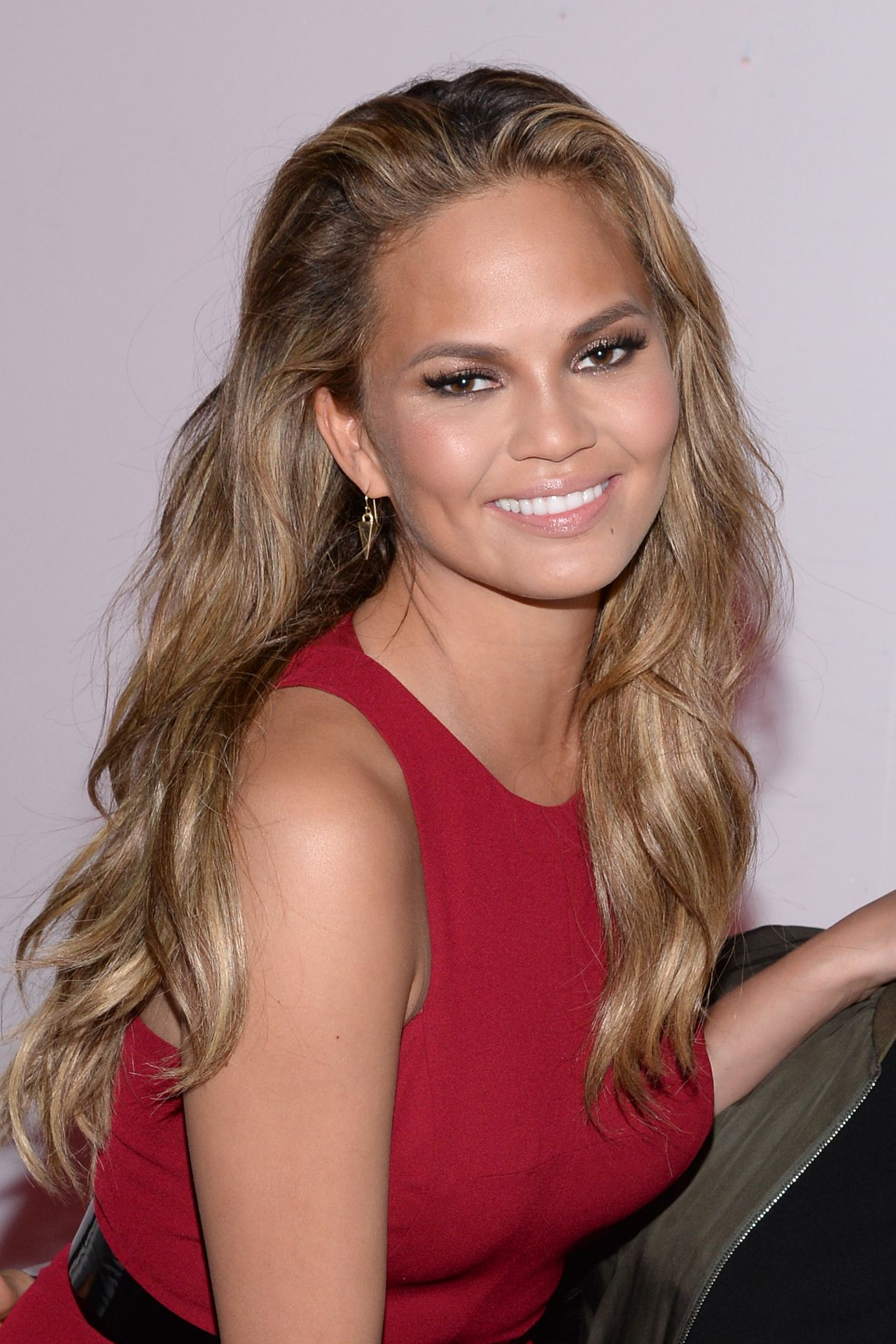 Chrissy Teigen – 2015 Leather & Laces Super Bowl XLIX Party in Phoenix
