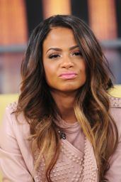 Christina Milian - at Good Day New York in New York City, Jan. 2015