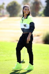 Christina Milian - Golf Course in Studio City, January 2015