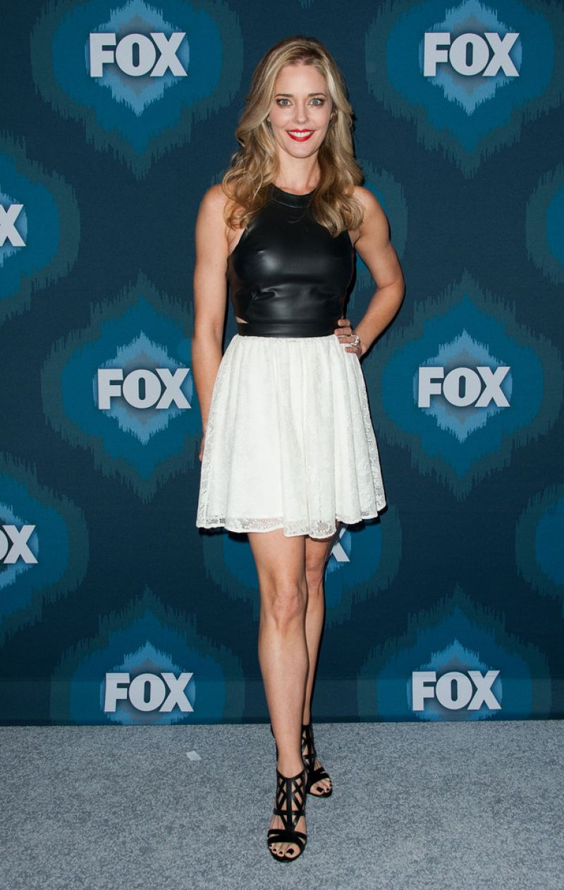 Christina Moore 2015 Fox All Star Party In Pasadena