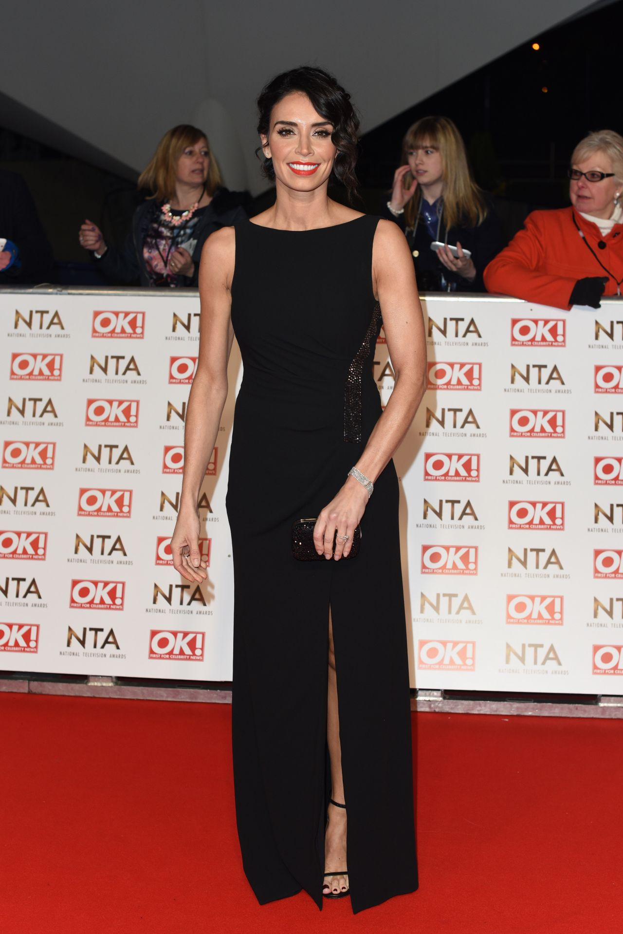 Christine Bleakley – 2015 National Television Awards in London