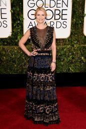 Claire Danes – 2015 Golden Globe Awards in Beverly Hills