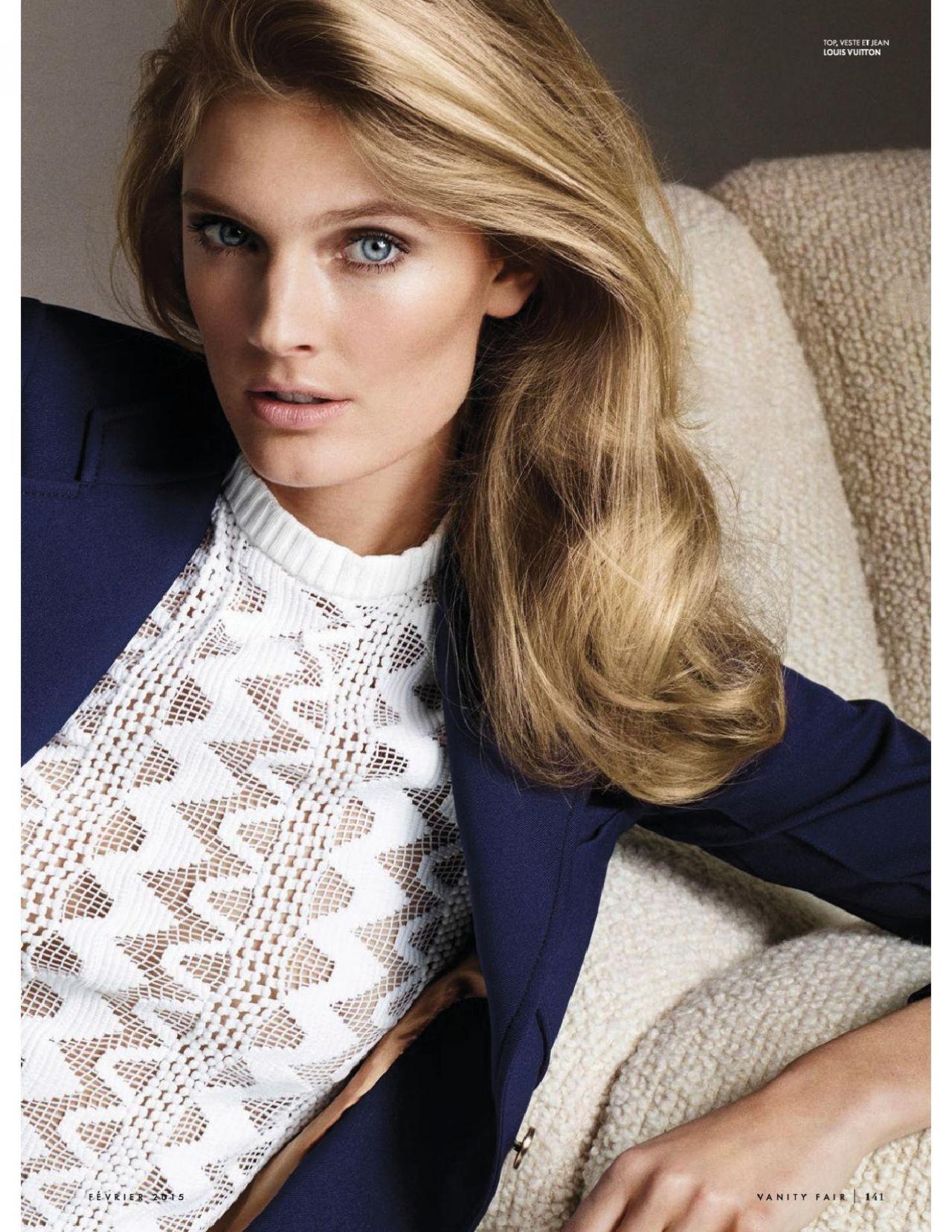 Constance Jablonski Vanity Fair Magazine France