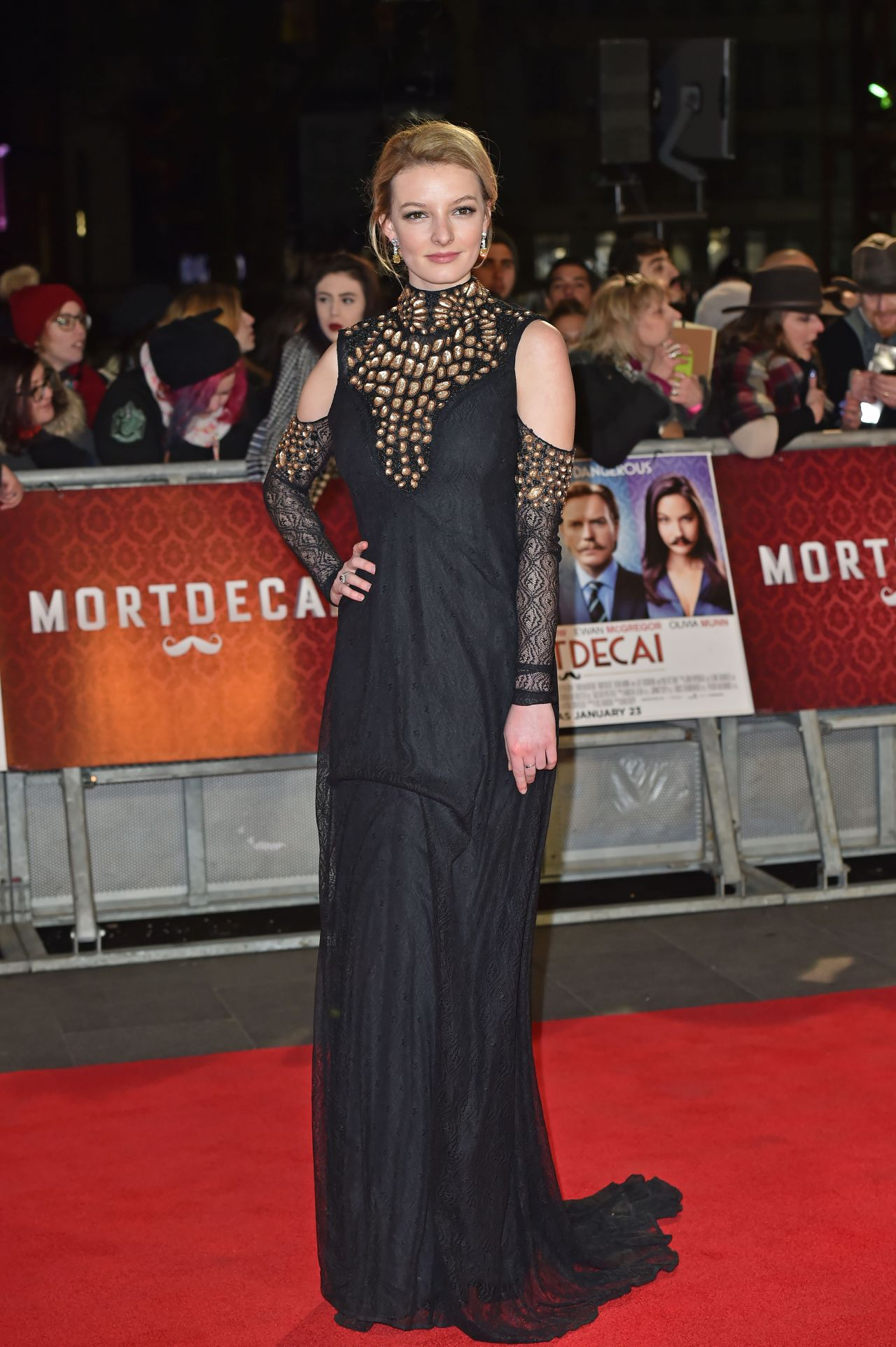 Dakota Blue Richards – 'Mortdecai' Premiere in London