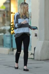 Dakota Fanning Casual Style - Out in Los Angeles, Jan. 2015