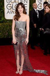 Dakota Johnson – 2015 Golden Globe Awards in Beverly Hills