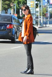 Dakota Johnson Casual Style - Out in Los Angeles, January 2015