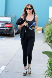 Dakota Johnson - Leaving a Pilates Class in West Hollywood, Jan. 2015