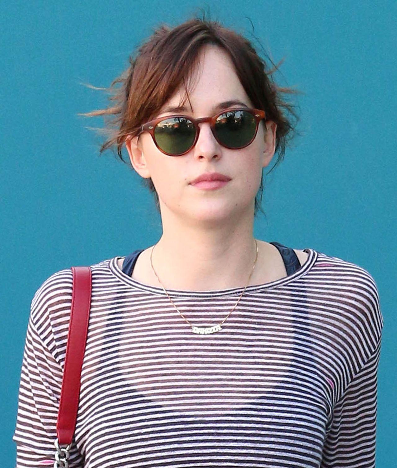 Dakota Johnson - Leaving Pilates Classes in West Hollywood, Jan. 2015