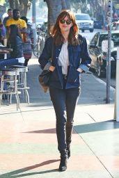 Dakota Johnson Street Style - Out in Los Feliz - January 2015