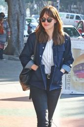 Dakota Johnson Street Style - Out in Los Feliz - January 2015