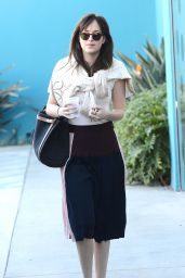Dakota Johnson Style - Leaving a Pilates Class in West Hollywood - Jan. 2015