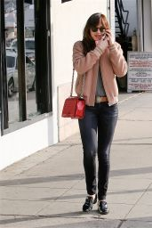 Dakota Johnson Style - Out in Los Angeles, January 2015