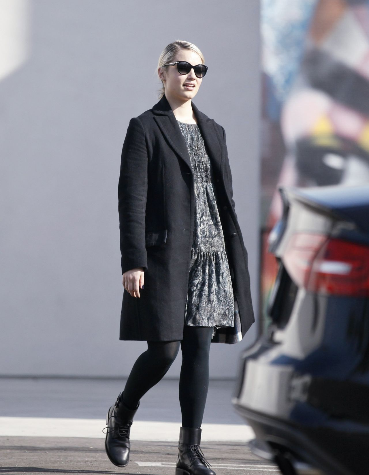 Fantastic Dianna Agron Autumn Style  Out In New York City 11202015
