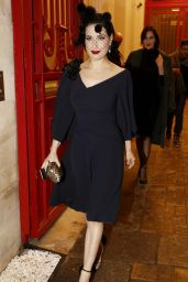 Dita von Teese - Alexis Mabille Show - Paris Fashion Week Haute-Couture Spring/Summer 2015