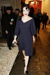 Dita von Teese - Alexis Mabille Show - Paris Fashion Week Haute-Couture Spring/Summer 2015