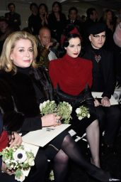 Dita von Teese Style - Jean Paul Gaultier Show in Paris - January 2015