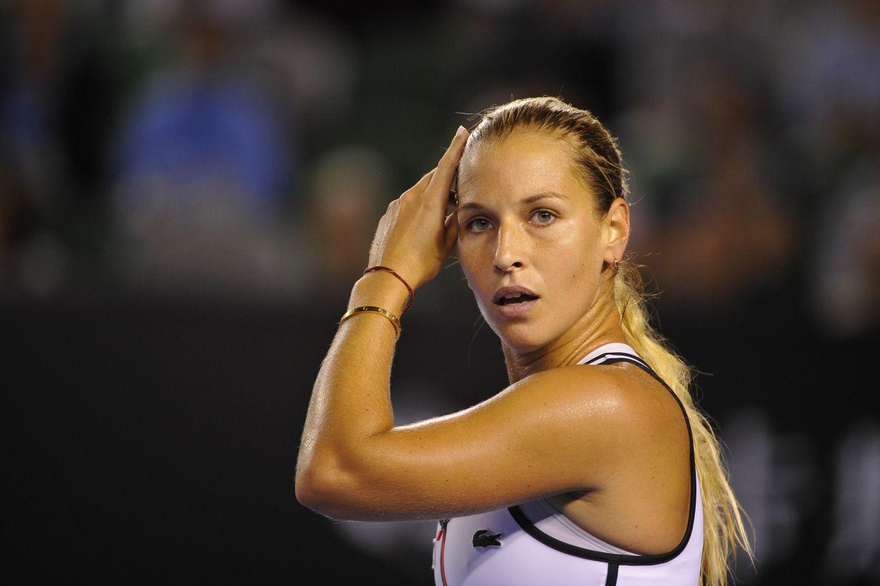 Dominika Cibulkova 2015 Australian Open In Melbourne