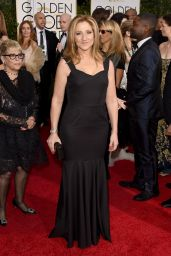 Edie Falco – 2015 Golden Globe Awards in Beverly Hills