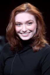 Eleanor Tomlinson - Poldark Panel PBS 2015 TCA Tour in Pasadena