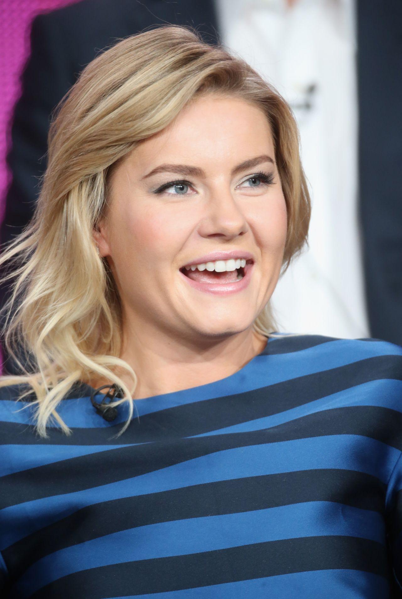 Elisha Cuthbert – 'One Big Happy' Panel TCA Press Tour in Pasadena
