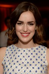 Elizabeth Henstridge – ELLE 2015 Annual Women in TV Celebration in Los Angeles