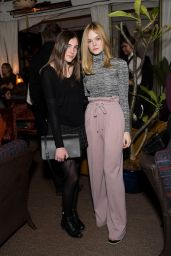 Elle Fanning - Rodarte x Superga Dinner in Los Angeles, Jan. 2015