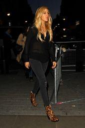 Ellie Goulding - Arrives at BBC Radio 1 Studios in London, January 2015