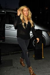 Ellie Goulding - Arrives at BBC Radio 1 Studios in London, January 2015