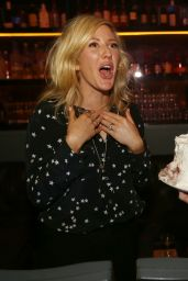 Ellie Goulding - Birthday at Basement Bowl in Miami Beach - January 2015