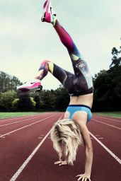 Ellie Goulding - Nike Melody Of Movement Photoshoot, January 2015