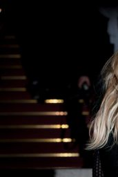 Ellie Goulding - Versace Show as part of Paris Fashion Week Haute Couture Spring/Summer 2015