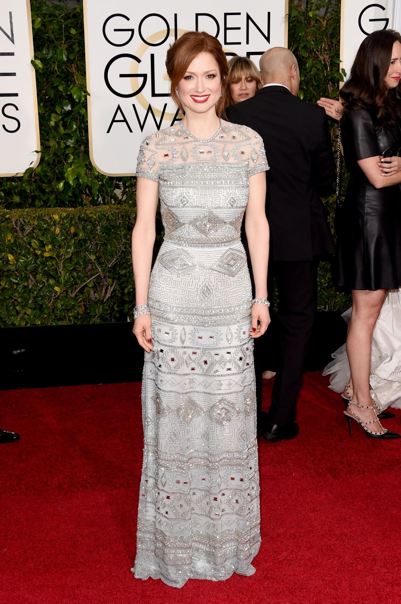 Ellie Kemper – 2015 Golden Globe Awards in Beverly Hills