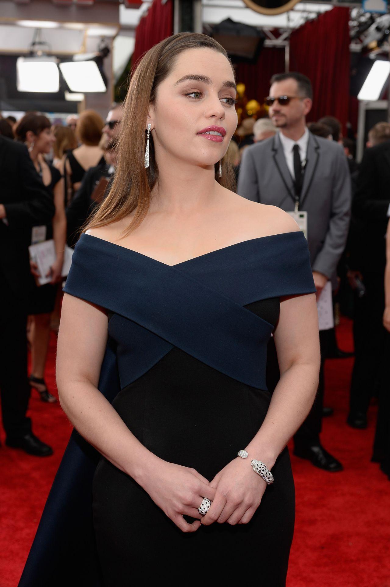 Emilia Clarke – 2015 SAG Awards in Los Angeles