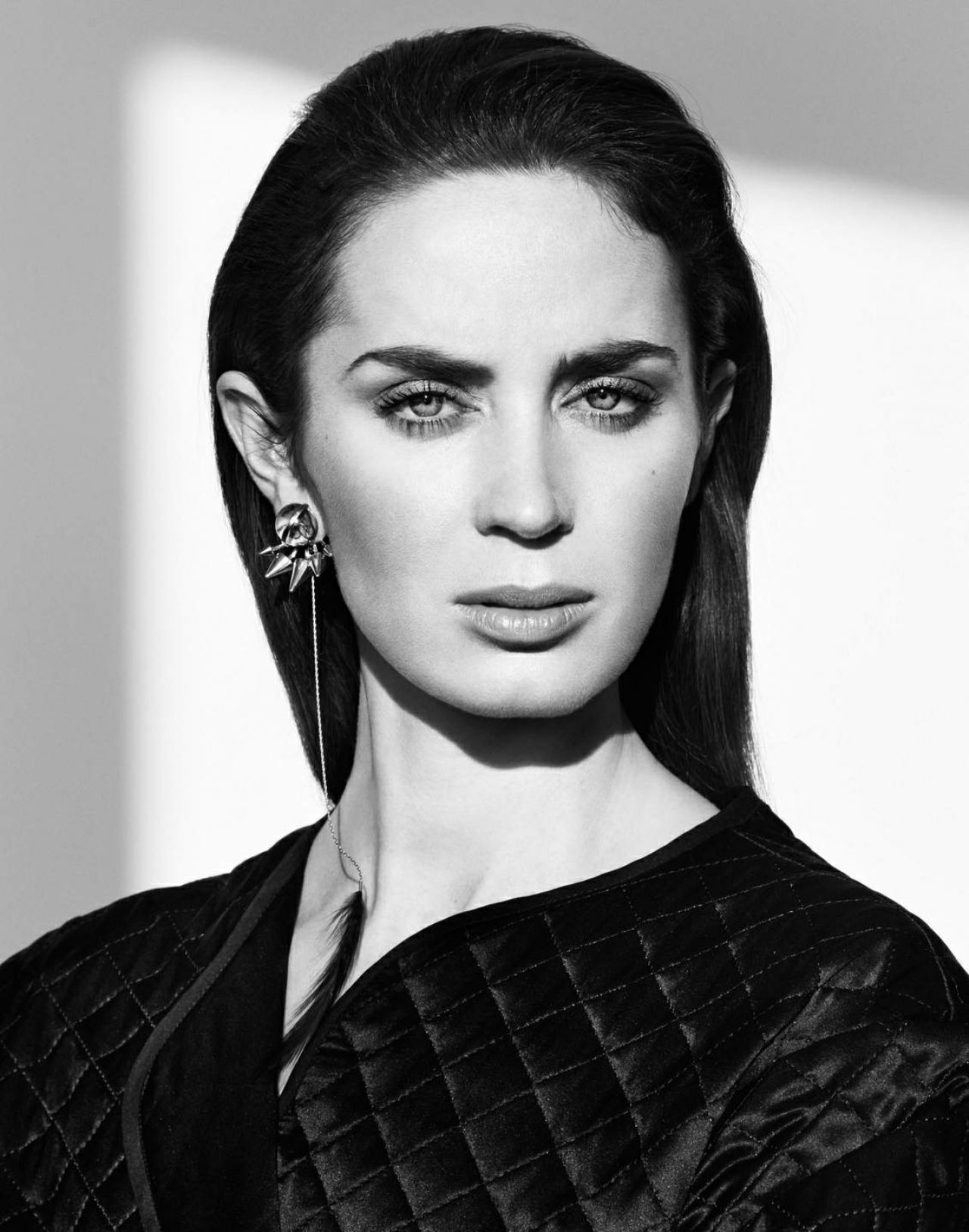 Emily Blunt - Photoshoot for The Edit Magazine, December 2014