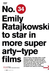 Emily Ratajkowski - FHM Magazine (UK) - February 2015 Issue