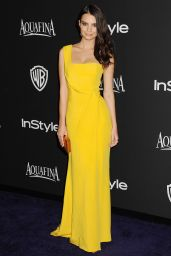 Emily Ratajkowski – InStyle And Warner Bros. 2015 Golden Globe Awards Post-Party
