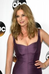 Emily VanCamp – Disney & ABC Television Group's TCA Winter Press Tour in Pasadena, Jan. 2015