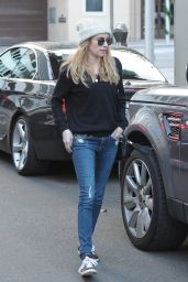 Emma Roberts in Jeans - Out in Beverly Hills, January 2015