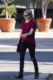Emma Roberts - Out in Los Angeles, January 2014